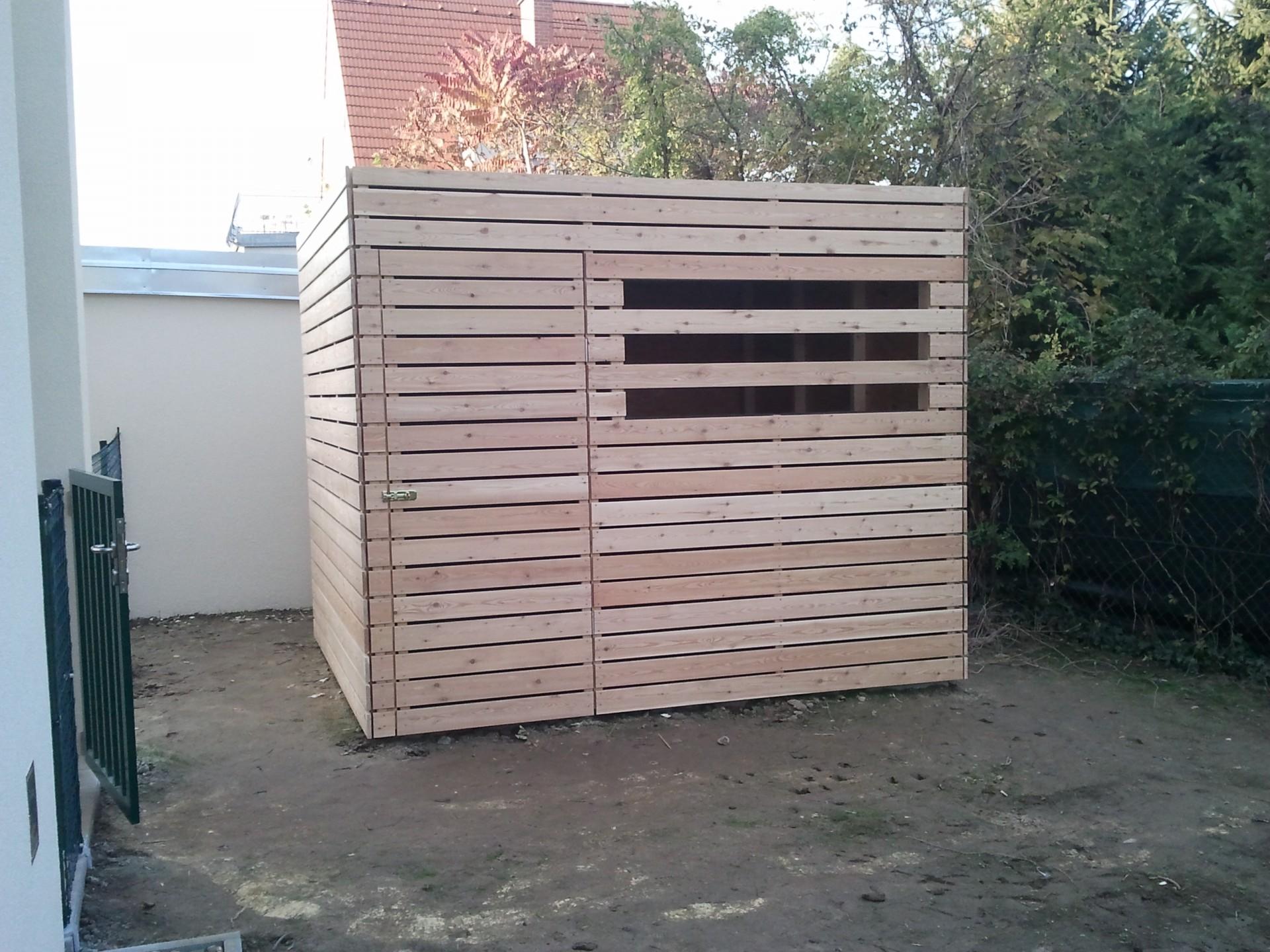 Holzbau Trettenbrein | Abstellboxen Gartenhütten